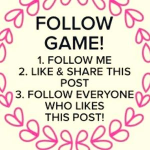 We All Grow together!  My First Follow Game!!!!!!